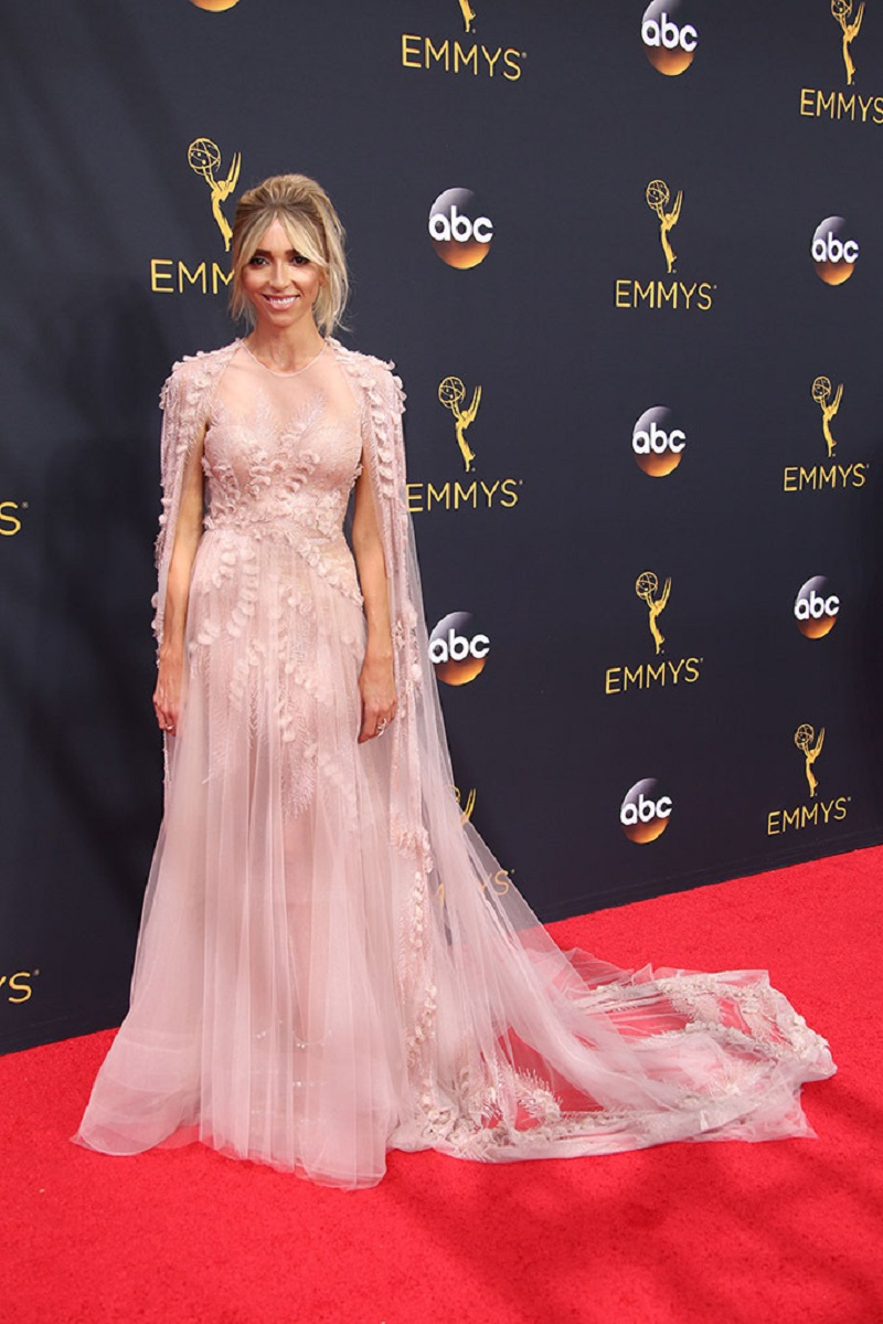 Mandatory Credit: Photo by REX/Shutterstock (5899235k) Giuliana Rancic 68th Primetime Emmy Awards, Arrivals, Los Angeles, USA - 18 Sep 2016